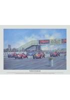 The Birth of Formula One Ltd Edition Print