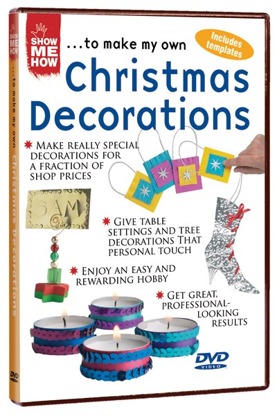 Show Me How - Christmas Decorations DVD