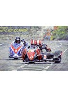Side by Side TT Sidecar Dave Molyneux and Nick Crowe