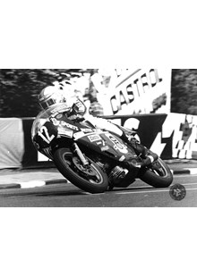 Mike Hailwood 1978 F1 Race 7 x 5 Original Photograph