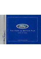 The Ford in Britain File - Model BY Model Book