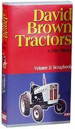 David Brown S Tractors Volume 2 - Scrapbook VHS