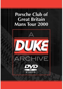 Porsche Club Great Britain Manx Tour 2000 Duke Archive DVD