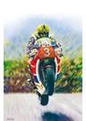 Joey Dunlop - Yer Maun  A4 Print