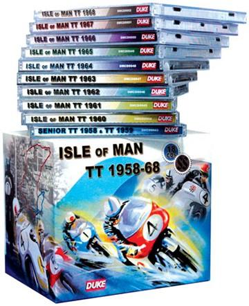 Isle of Man TT 1958-68 10 CD box set - click to enlarge