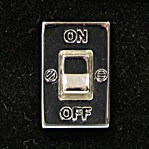 On/off Electrical Switch Cufflinks