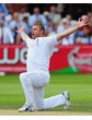 Ashes 2009 Flintoff A3 Canvas Print
