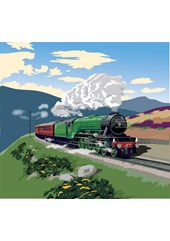 Flying Scotsman A2 Print