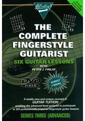 Guitar Lessons Fingerstyle Advanced Acoustic DVD