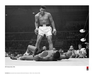 First Minute First Round V Liston Print - click to enlarge