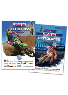 AMA Motocross Reviews DVD Bundle