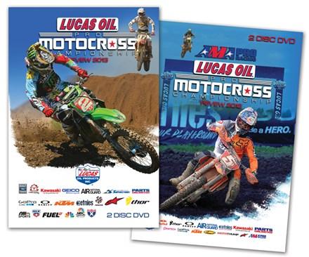 AMA Motocross Reviews DVD Bundle