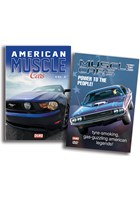 American Muscle Cars Vol 1 & 2 DVD Bundle