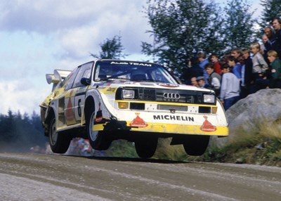 Audi Rallying Print - click to enlarge