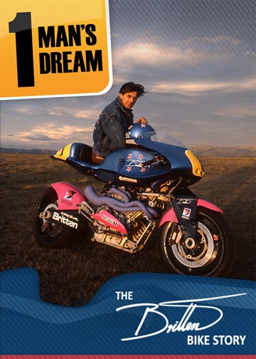 The Britten Bike Story - 1 Man's Dream DVD - click to enlarge
