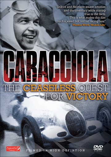 Caracciola The Ceaseless Quest for Victory DVD - click to enlarge