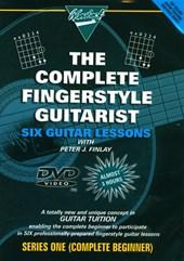 Guitar Lessons Fingerstyle Beginner Acoustic DVD