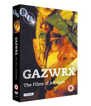 GAXWRX The Films of Jeff KeEn (4 Disc Set) DVD - click to enlarge