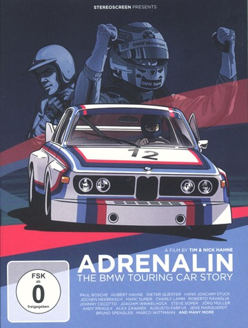 Adrenalin -  The BMW Touring Car Story DVD - click to enlarge