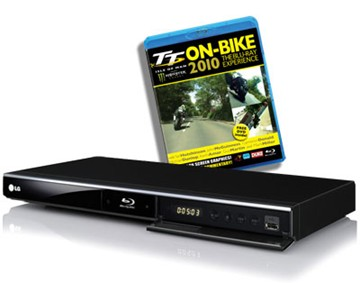 Blu-ray Player and TT 2010 On-Bike Blu-ray - click to enlarge