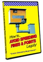 How to Avoid Speeding Fines & Points Legally DVD