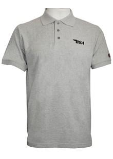 BSA Thunderbolt Polo Grey
