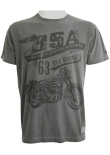 BSA Goldstar T-shirt Grey