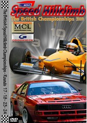 MSA British Speed Hillclimb 2009 Rds 17/8 & 23/4 DVD