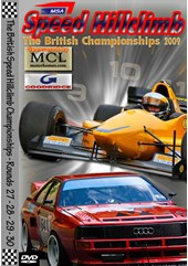 MSA British Speed Hillclimb 2009 Rds 27-30 DVD