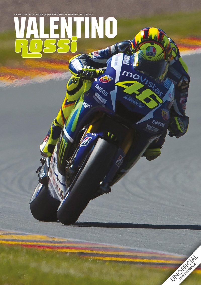 valentino rossi 2017 calendar duke video. Black Bedroom Furniture Sets. Home Design Ideas
