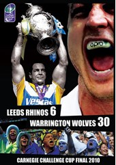 2010 Carnegie Challenge Cup Final - Leeds 6-30 Warrington (DVD)