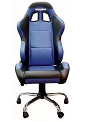 Team Chair Yamaha Blue with Black Trim