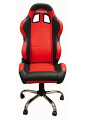 Team Chair Aprilia Red with Black Trim