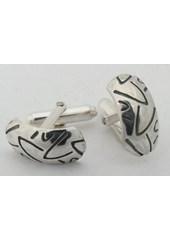 Silver Tyre Cufflinks Nos 012a