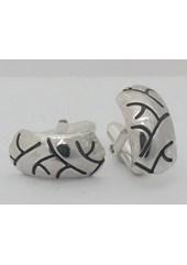 Silver Tyre Cufflinks Nos 017a