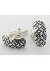 Silver Tyre Cufflinks Nos 033a