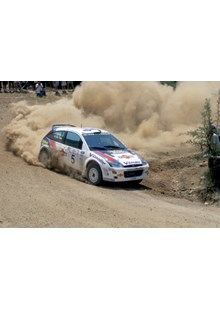 Colin McRae  Ford Focus 2000 Acropolis , Canvas, A2
