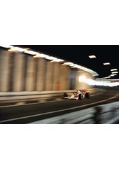 Ayrton Senna 1989 Monaco , Canvas, A3