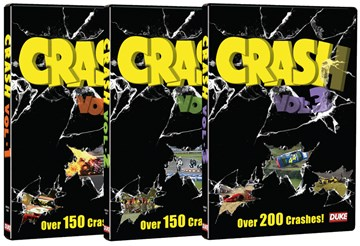 Crash Series Vol 1 to 3 DVD - click to enlarge