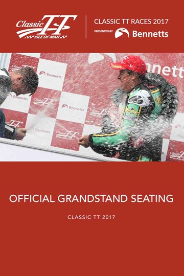 Classic TT 2017 Grandstand Ticket - click to enlarge