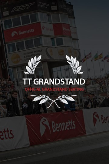 Classic TT 2018 Main Grandstand Ticket - click to enlarge