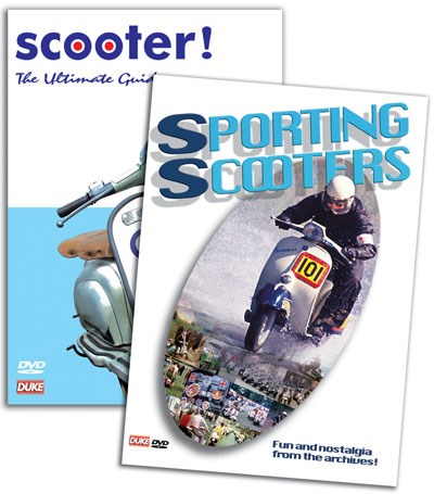 Two Classic Scotter DVDs