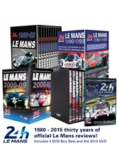 Complete Le Mans 1980 to 2015 dvd