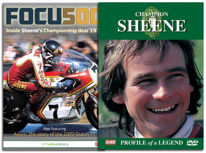 Sheene Story: Champion Sheene & Focus 500