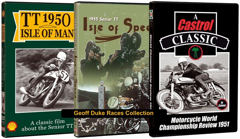 Geoff duke s races collection isle of man tt official shop