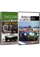 Jaguar and Aston Martin at Le Mans