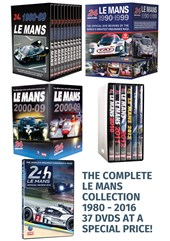Le Mans 1980 to 2016 DVDs