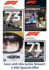 Grand Prix Hero Jackie Stewart Bundle