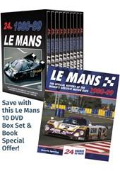 Le Mans 1980-89 DVD Box Set & Book