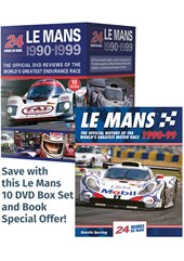 Le Mans 1990-99 Box Set & Book